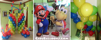Super Mario Decorations Super Mario Brothers Cebu Balloons And Party Supplies