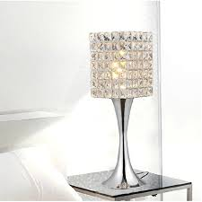 modern crystal table lamps with glass models boundless ideas and 8