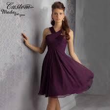 cheap purple chiffon bridesmaid dresses fashion dresses