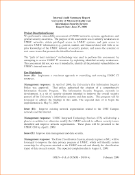 internal audit report free download internal audit report template
