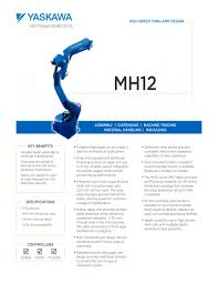 mh12 motoman pdf catalogue technical documentation brochure