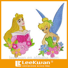 cute cartoon character embroidery patch barbie fairy design barbie