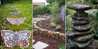 Garden Decorating Ideas Garden Decorating Ideas With Rocks And Stones