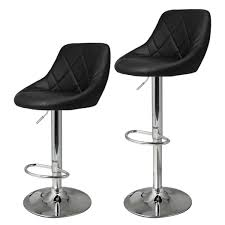 revolving bar stool amazon com homdox bar chairs adjustable synthetic leather swivel