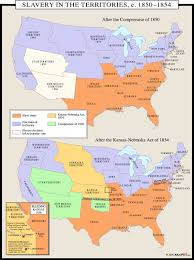 Missouri Compromise Map Activity Slavery In The Territories C 18501854 Map Mapscom The 34 Best