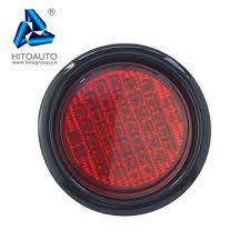 4 inch round led lights ytr4081s 4 inch round led trailer tail lights 3 color buy trailer