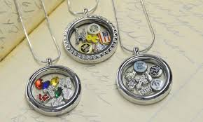 personalized locket necklace st the moment locket necklace groupon goods