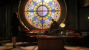 round cathedral window watchtower smallville ideas for home