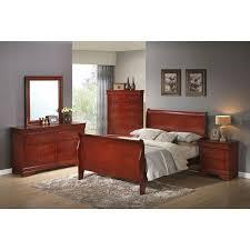 The  Best Cherry Sleigh Bed Ideas On Pinterest Bedroom - Grande sleigh 5 piece cal king bedroom set
