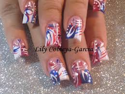 lily u0027s 4th of july nail art gallery