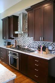 Pics Of Kitchen Backsplashes Best 20 Kitchen Tile Backsplash With Oak Ideas On Pinterest