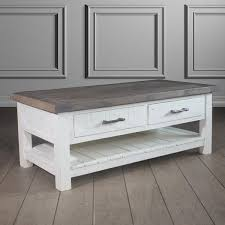 White Wood Coffee Table Reclaimed Wood Coffee Table Living Room Furniture Modish Living
