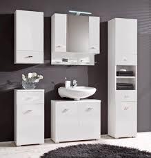 kommode badezimmer barolo badezimmer unterschrank 1 türe 1 schublade dekor weiß