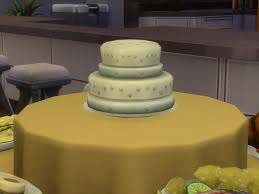 wedding cake in the sims 4 mod the sims create new food