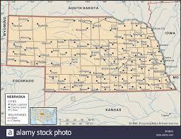 Nebraska Map Popular 150 List Map Of Nebraska