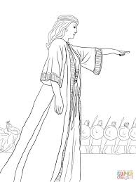 deborah the prophetess coloring pages free coloring pages
