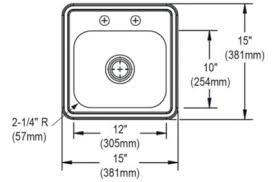 dayton elite stainless steel sink dep211515c in by elkay in houston tx dayton elite stainless steel