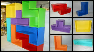 a flat pack tetris bookshelf finewoodworking