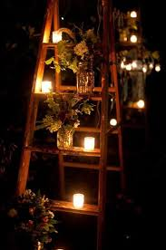 Outdoor Lighting Party Ideas - 20 creative ladder ideas for home decoration gardens jars and