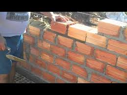 how to build a brick wall youtube