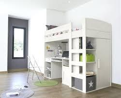 lit mezzanine avec bureau et rangement lit superpose avec armoire lit mezzanine avec bureau armoire treev co