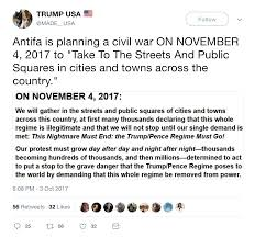 fact check is u0027antifa u0027 planning a civil war
