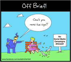 please do not feed the birds u2013 cartoon marketing magazine