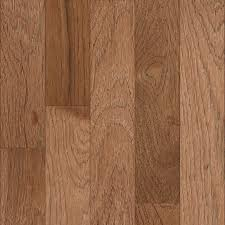 shop allen roth variable width toffee hickory hardwood flooring