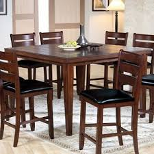 Acme Dining Room Furniture Acme Furniture Urbana 9 Piece Counter Height Dining Group