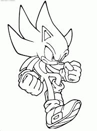 28 dessins de coloriage Sonic à imprimer