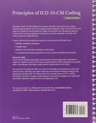 buy principles of icd 10 cm coding book online at low prices in