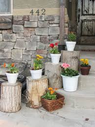 Log Decor 42 Best Summer Porch Decor Ideas And Designs For 2017