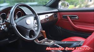Slk230 Interior 2003 Mercedes Benz Slk230 Youtube