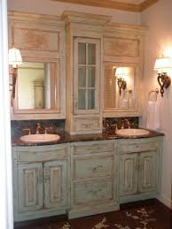 Double Vanity With Tower Bathroom Vanity Tower Bathroom Counter Storage Tower Bathroom