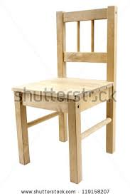 Simple Armchair Wooden Chair Stock Images Royalty Free Images U0026 Vectors