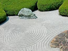 Zen Rock Garden by Japanese Zen Garden Wallpaper