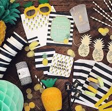 Tropical Party Themes - pineapple party flamingo birthday party pinterest birthdays
