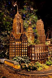 Ny Botanical Garden Membership by Treasures Of New York Holiday Train Show Press Release