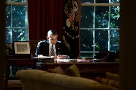 Desk In Oval Office by Pete Souza Photos Of President Barack Obama