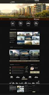 halloween web template arche architecture creative template site templates