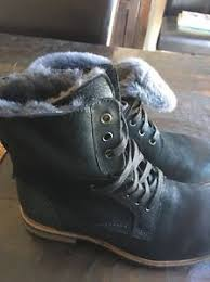 s ugg ankle boots with laces ugg quincy black suede sheepskin lace up ankle boots size us 7 5