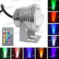 Color Changing Flood Lights Colour Changing Led Floodlight Ebay