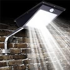 mising 81 led solar light outdoor led garden light motion sensor