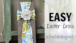 Youtube Easter Decorations by Diy Easter Cross Wreath Youtube Diy Flower Holiday Videos