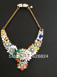 coloured crystal necklace images New shourouk apolonia fox rainbow crystal embellished necklace jpg