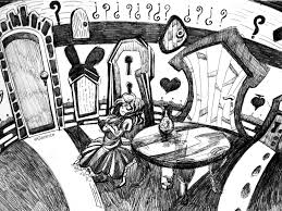 14 u0027alice wonderland u0027 drawings u2013 coffeelicious
