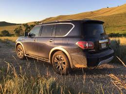 nissan armada off road 2017 nissan armada 4wd takes on the family road trip review