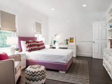 girls u0027 bedroom design ideas hgtv