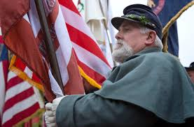 Battle Flag State House Ceremony Marks 150th Anniversary Of Return Of Civil
