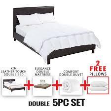 kim double bed 5 piece set u2022 decofurn factory shop